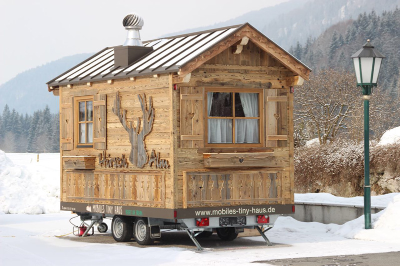 "Tiny House Alm ""Hirsch"" - Mobiles Tiny House"