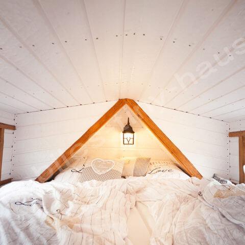 Tiny House France bedroom