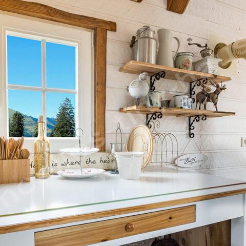 Tiny House France kitchen