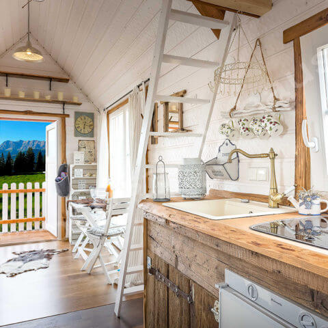 Tiny House France loft