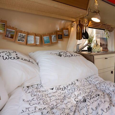 Caravan Eriba – the dining area becomes the bedroom!