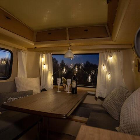 Caravan Eriba – evening mood