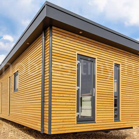 Holzhaus Außenansicht