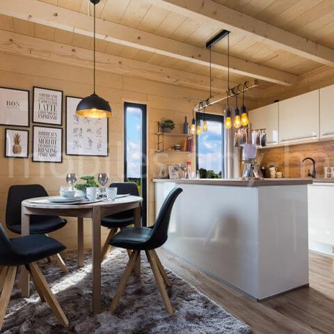 Holzhaus Wohnbereich