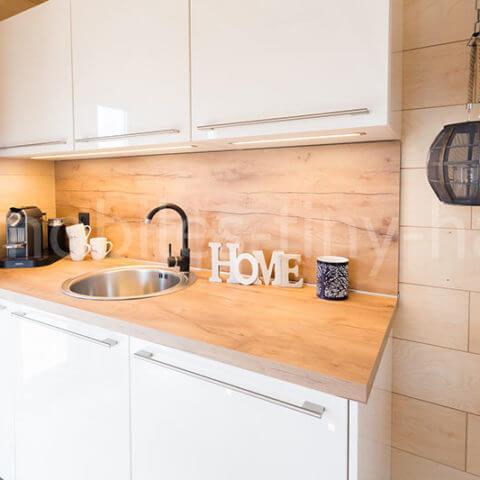 Holzhaus Küchenbereich