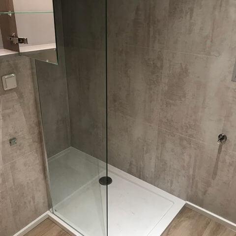 bathroom wooden house