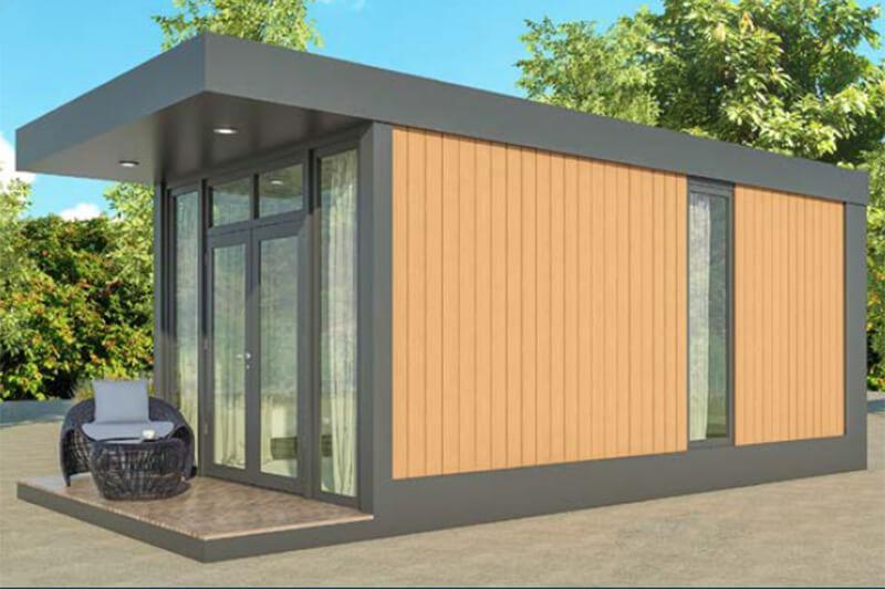 Mobiles Chalet Finnland - Mobiles-Tiny-Haus