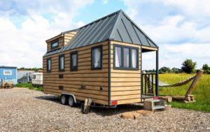 Kleinhaus Modell Australien aus Holz
