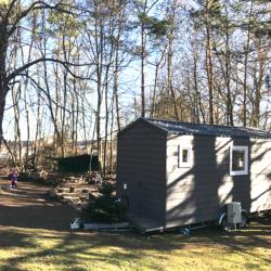 Waldkindergarten, Waldhäuschen – Mobiles Tiny House