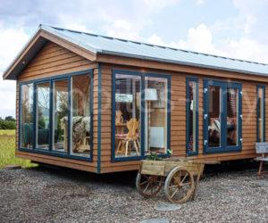 Ökohaus aus Holz