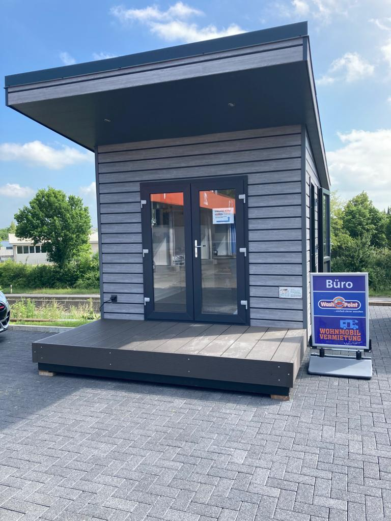 Mobiles Chalet Büro 04 - Vital Camp GmbH