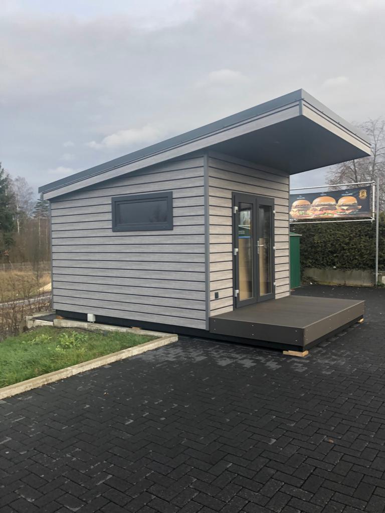 Mobiles Chalet Büro 03 - Vital Camp GmbH