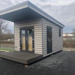 Mobiles Chalet Büro 02 – Vital Camp GmbH