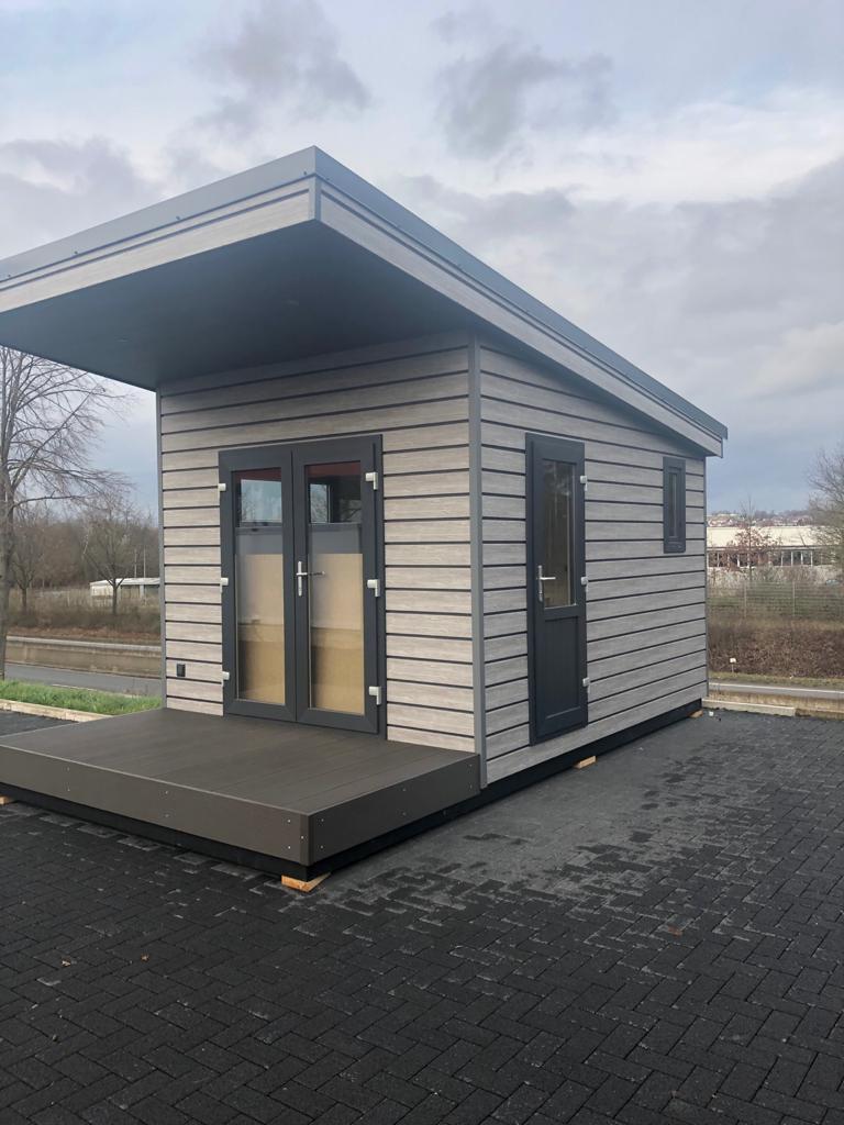 Mobiles Chalet Büro 02 - Vital Camp GmbH